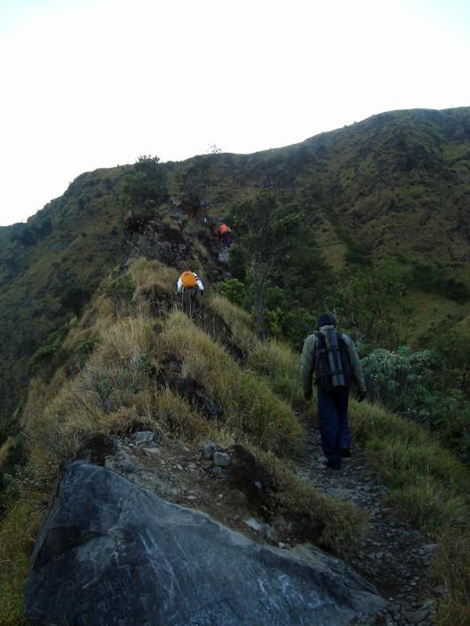 Menuju Puncak Gunung Merbabu