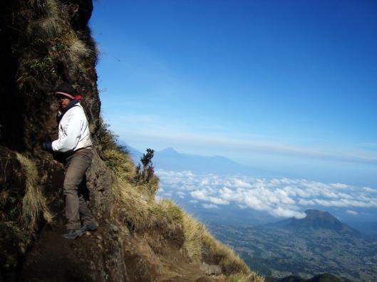 Merayap 85 derajat menuju Puncak Gunung Merbabu