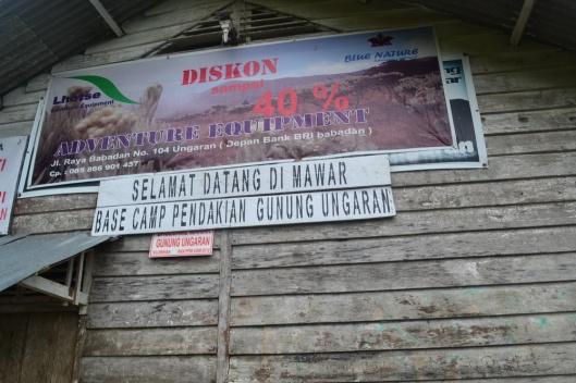 Base Camp Pendakian Gunung Ungaran
