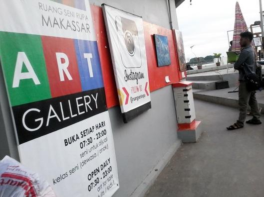 Art Gallery di pantai Losari