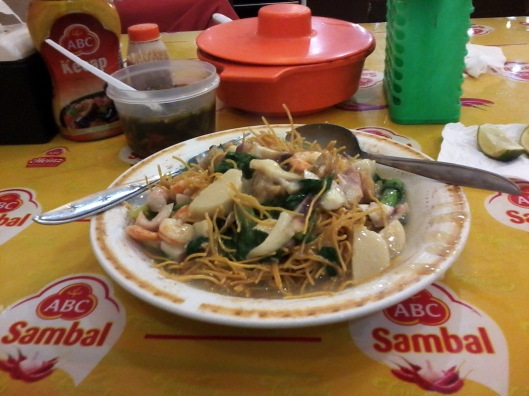 Mie Titi kuah Seafood