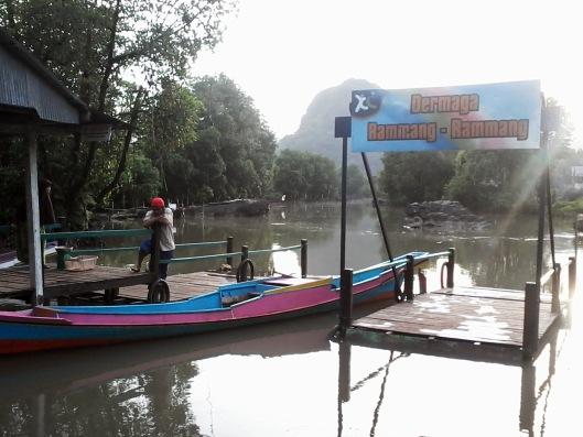 Dermaga Rammang-Rammang